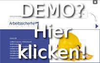 Demo Online-Unterweisung Arbeitssicherheit