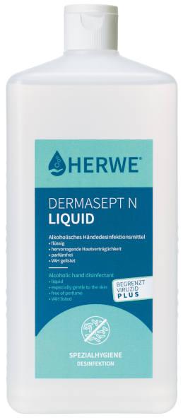 1000ml EURO-Spenderflasche HERWE DERMASEPT N LIQUID